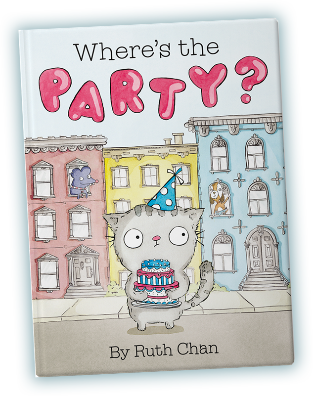 Where's the Party? book cover